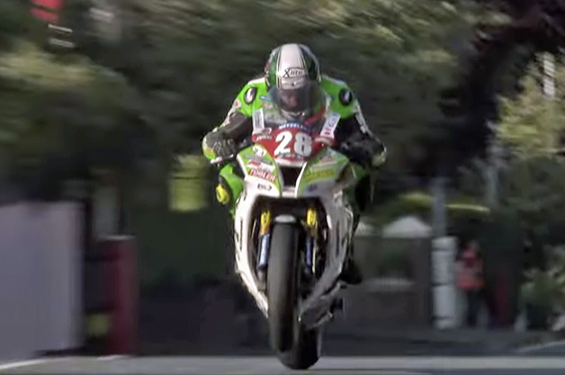 Kawasaki at the Isle of Man