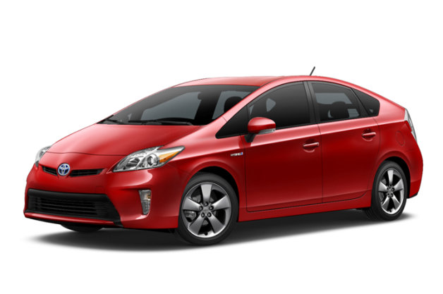 2015 Toyota Prius Persona Special Edition in red