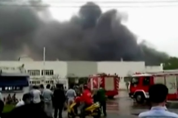 Chinese auto parts explosion