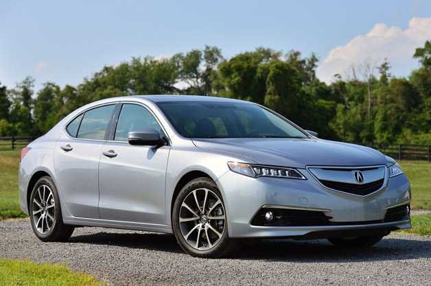 2015 <a href='http://carsellers.ru/companies/brand/acura/'>Acura</a> TLX