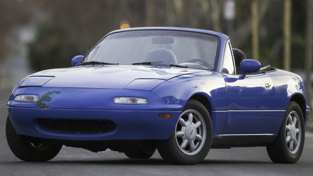 Road and Track Million-Mile Miata